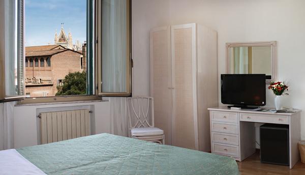 Toscane - Camera con vista sul Duomo di Siena