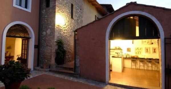 Toscane - Hotel Pescille - Ingresso Hotel e Taverna
