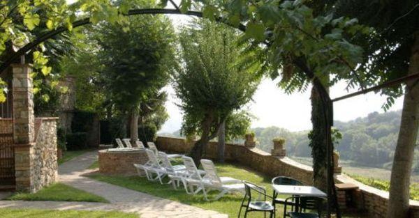 Toscane - Hotel Pescille - Giardino con Vista Panoramica