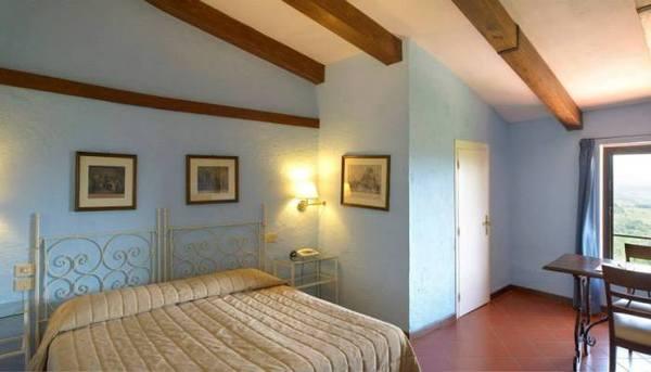 Toscane - Hotel Bel Soggiorno San Gimignano - Camera Matrimoniale munita di tutti i confort