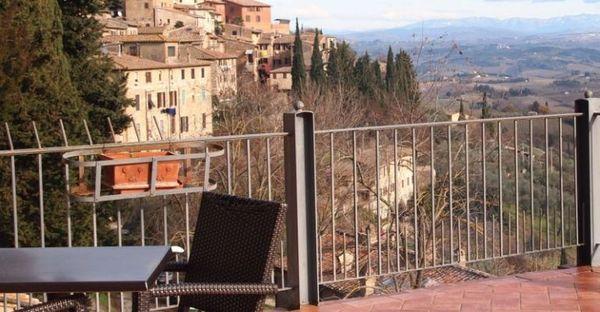 Toscane - Hotel Bel Soggiorno San Gimignano - Terrazza Panoramica