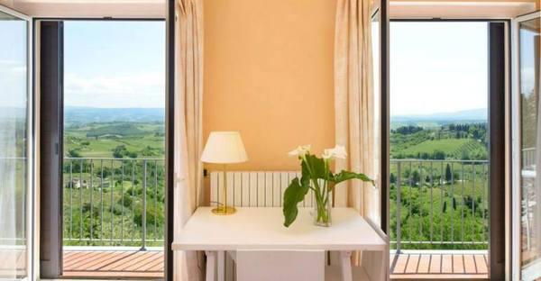 Toscane - Hotel Bel Soggiorno San Gimignano - Vista Spettacolare Colline Toscane