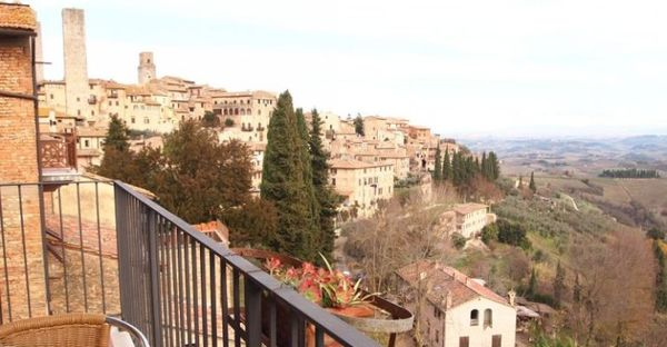 Toscane - Hotel Bel Soggiorno San Gimignano - Vista Lato San Gimignano