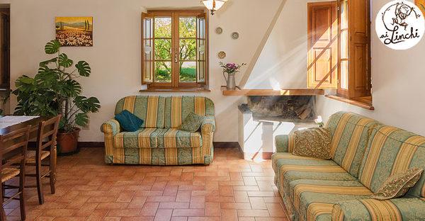 Toscane - AGRITURISMO AI LINCHI - Casa Giuseppe e Casa Renata sono Due Ampie Abitazioni che Possono Ospitare fino a 6 Persone - Lucca
