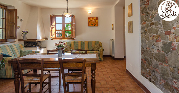 Toscane - AGRITURISMO AI LINCHI - Composto da Due Edifici, Uno con Due Appartamenti e l'Altro con Tre Camere Matrimoniali e Zone Comuni - Sant'Alessio, LUCCA