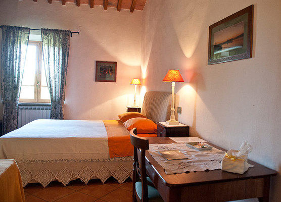 Toscane - Le Tagliate Bed & Breakfast - Camera Iris